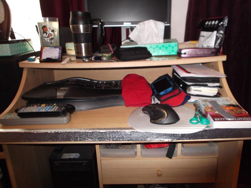 Desk and stuff 002