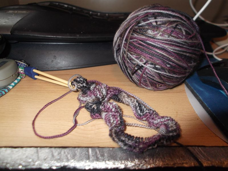 Knitting and desk 001