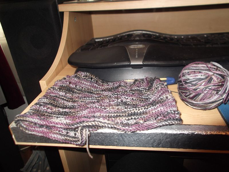 Knitting and wine 001