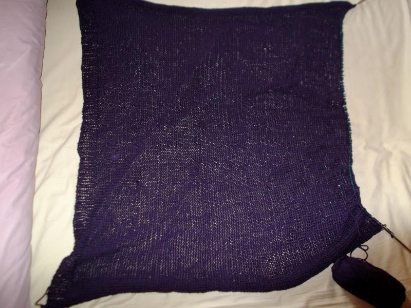 Food + knitting 001