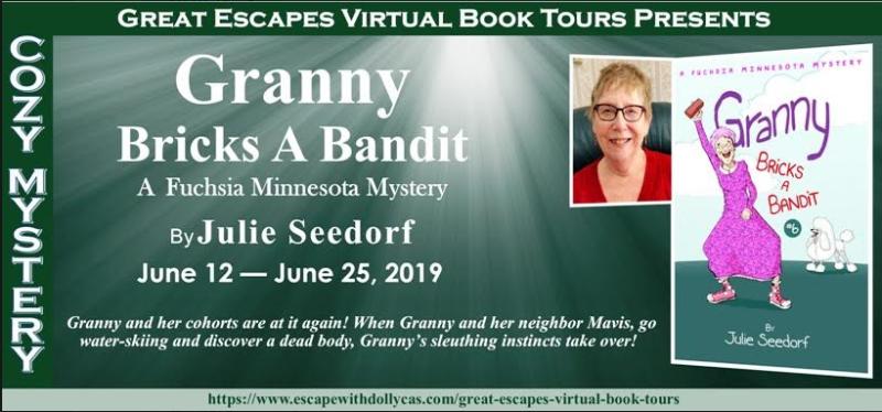 Granny Bricks a Bandit