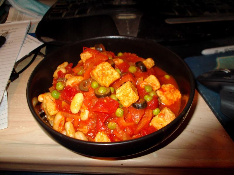 Cannellini bean stew
